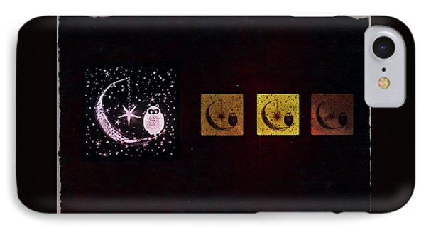 Night Owls IPhone Case by Sherry Flaker