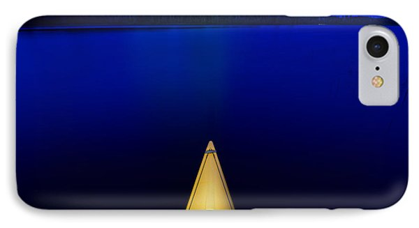 Night Paddle IPhone Case by Steve Gadomski