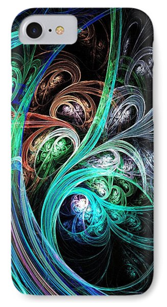 Night Phoenix IPhone Case by Anastasiya Malakhova