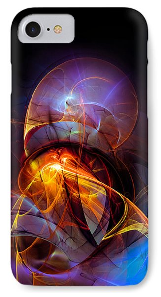 Night Ride IPhone Case by Modern Art Prints