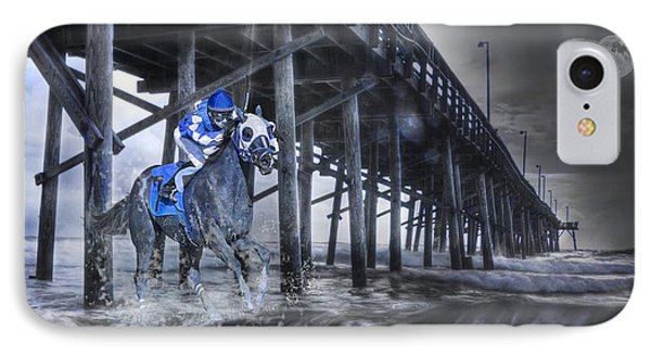 Night Run II IPhone Case by Betsy Knapp