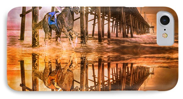 Night Run IIi Patriotic  Phone Case by Betsy Knapp