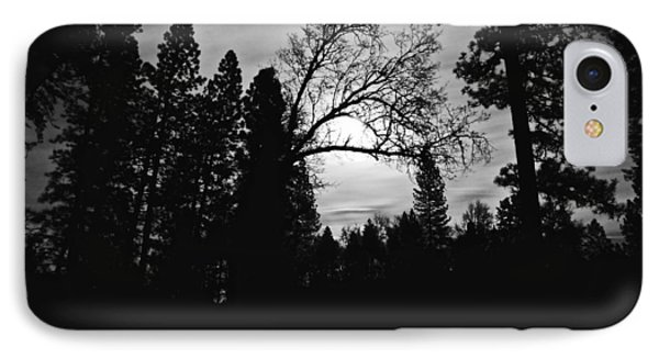 IPhone Case featuring the photograph Night Shadows by Lennie Green