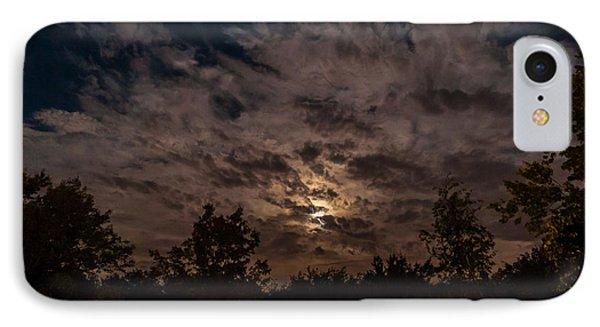 Night Sky - Autumn 1 IPhone Case by Frank Mari