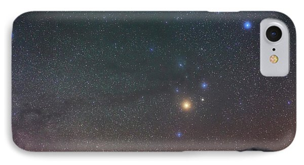 Night Sky Over The Alps IPhone Case