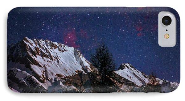 Night Sky Over The Tyrol Alps IPhone Case by Babak Tafreshi