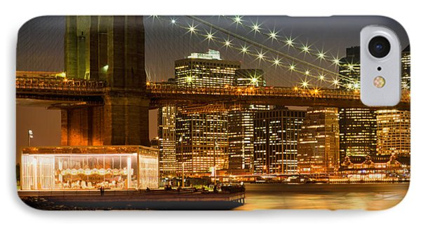 Night-skylines New York City IPhone Case