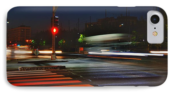 Night Streaks Phone Case by Joann Vitali