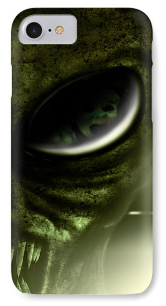 IPhone Case featuring the digital art Night Terrors by Jeremy Martinson