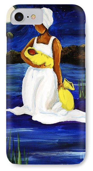 IPhone Case featuring the painting Night Tide by Diane Britton Dunham