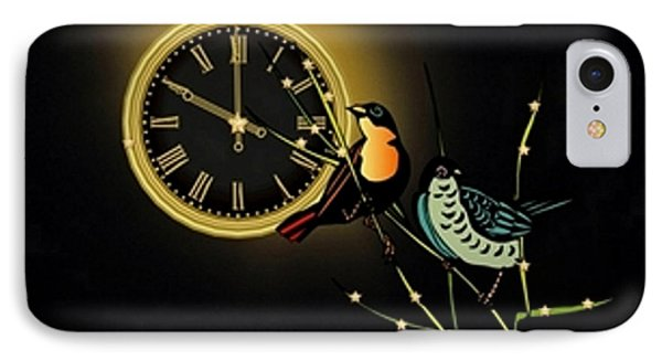 Night Time IPhone Case by Mary Anne Ritchie