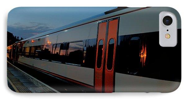 Night Train To London Phone Case by Deborah Smolinske