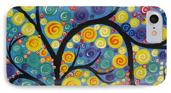 Night Tree IPhone Case by Cathy Jacobs