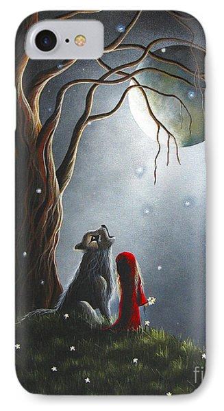 Little Red Riding Hood Art Prints IPhone Case