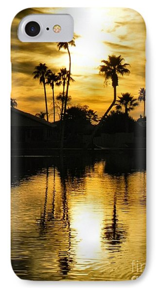 IPhone Case featuring the photograph Nightfall by Deb Halloran
