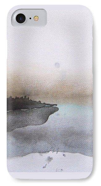Nightfall On The Lake  IPhone Case