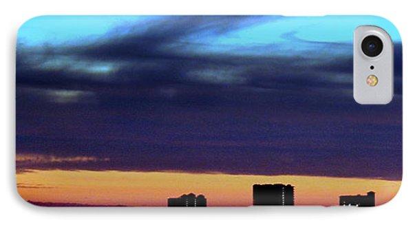 IPhone Case featuring the photograph Nightfall Over Pensacola Beach by Faith Williams