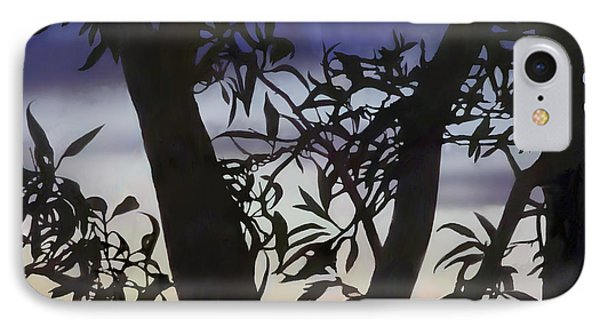 IPhone Case featuring the digital art Nightfall by Ursula Freer