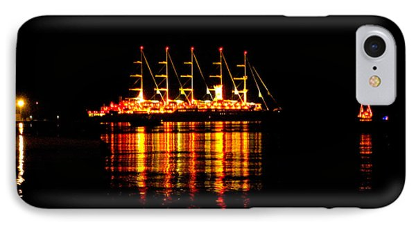 Nightlife On The Water IPhone Case by Zafer Gurel