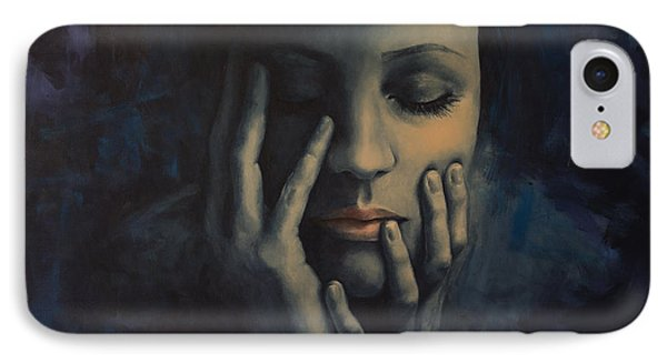 Nights In July Phone Case by Dorina  Costras