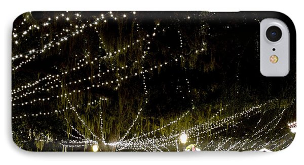 Nights Of Light 2 Phone Case by Kenneth Albin