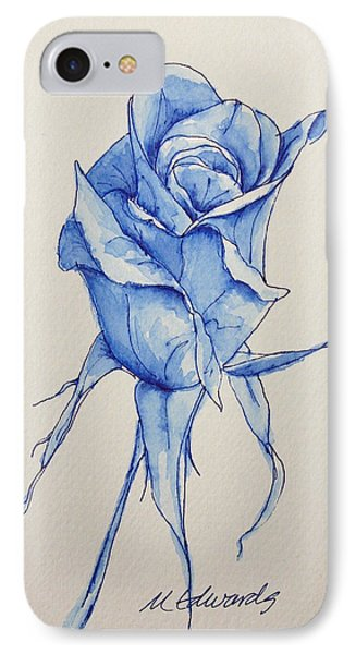 Niki's Rose IPhone Case by Marna Edwards Flavell