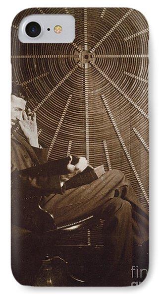 Nikola Tesla Phone Case by Granger