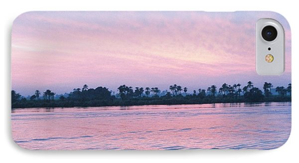 IPhone Case featuring the photograph Nile Sunset by Cassandra Buckley