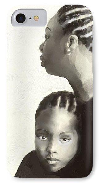 Nina And Lisa Simone IPhone Case by Vannetta Ferguson