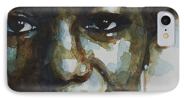 Musicians iPhone 7 Case - Nina Simone Ain't Got No by Paul Lovering