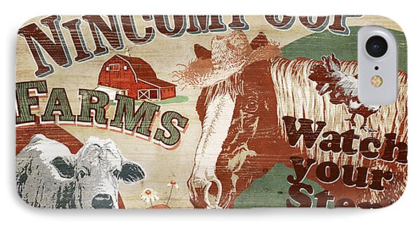 Nincompoop Farms IPhone Case by JQ Licensing
