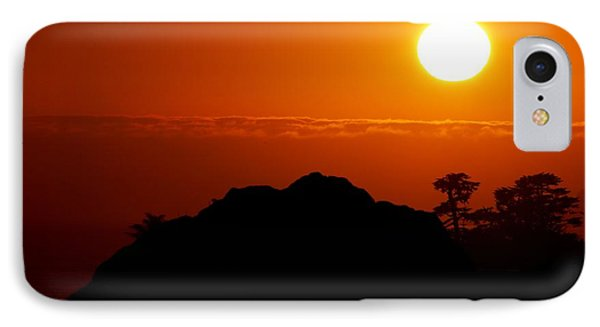 Nine-eleven Sunset IPhone Case by Ru Tover