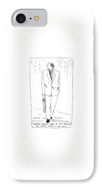 Nineteen Minutes Ahead Of The World IPhone Case by Richard Cline