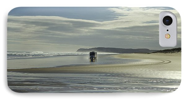 Ninety Mile Beach New Zealand IPhone Case by Venetia Featherstone-Witty