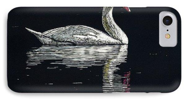 Nino's Swan Phone Case by Robert Goudreau