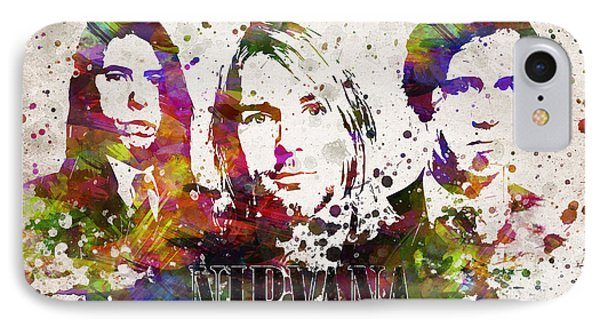 Nirvana In Color IPhone Case by Aged Pixel