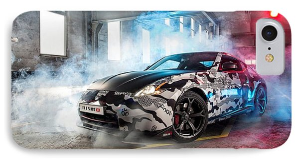 Nissan 350z IPhone Case by Art Work