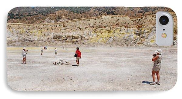 Nisyros Volcano Greece IPhone Case