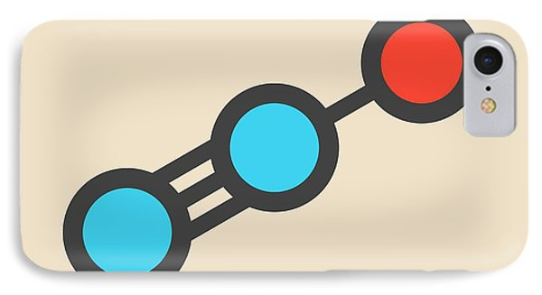 Nitrous Oxide Molecule IPhone Case