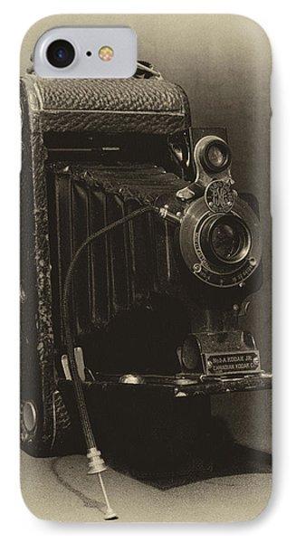 No. 1-a Kodak Jr. Phone Case by Leah Palmer