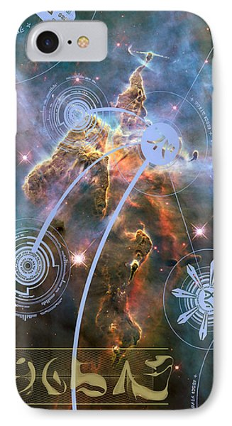 IPhone Case featuring the photograph No. 5 Alien Greeting Card by Robert Kernodle