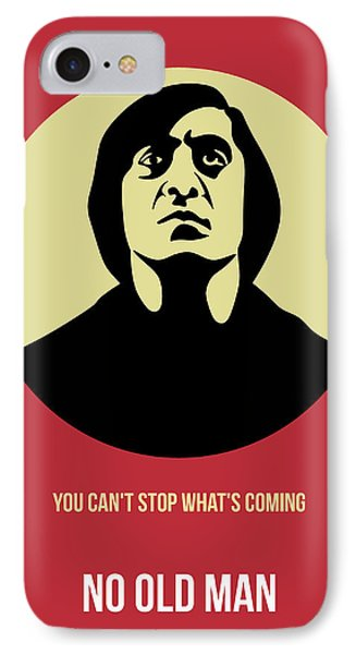 No Country For Old Man Poster 3 IPhone Case by Naxart Studio