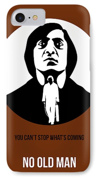 No Country For Old Man Poster 4 IPhone Case by Naxart Studio