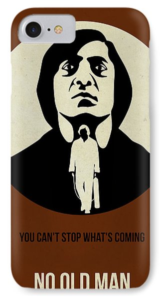 No Country For Old Man Poster IPhone Case by Naxart Studio