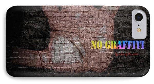 No Graffiti IPhone Case