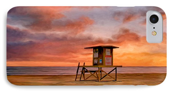 No Lifeguard On Duty At The Wedge IPhone Case by Michael Pickett