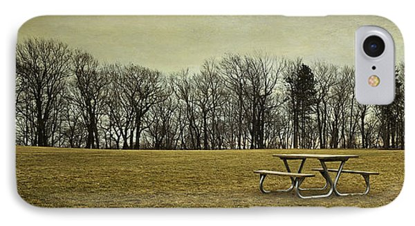 No More Picnics IPhone Case by Scott Norris