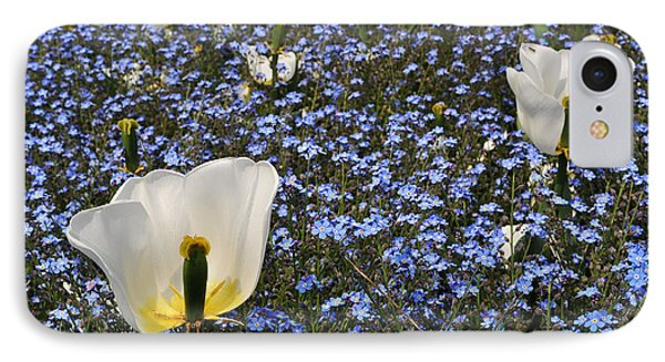 IPhone Case featuring the photograph No More Tulips by Simona Ghidini
