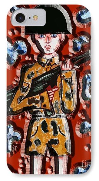 No More War Phone Case by Patrick J Murphy
