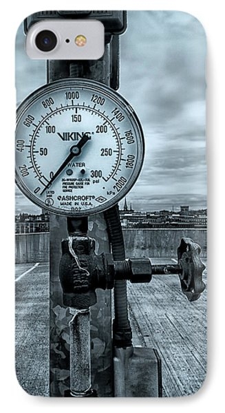 No Pressure Or The Valve At The Top Of The City  Phone Case by Bob Orsillo
